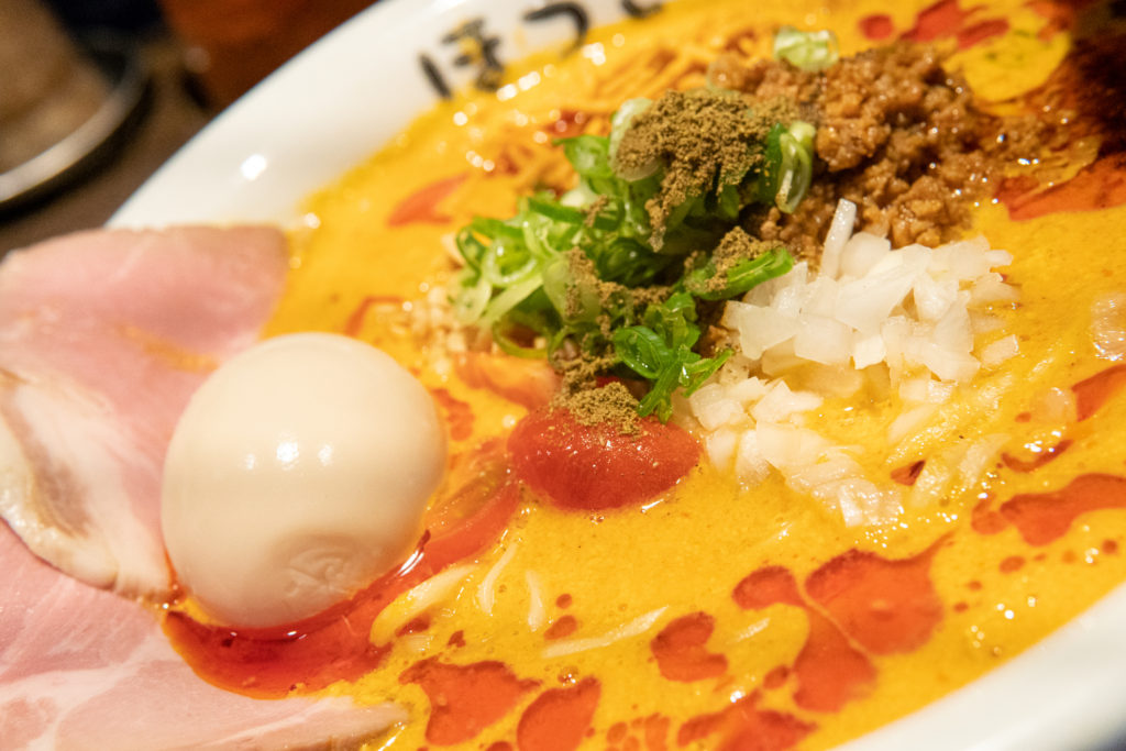 自家製麺 ほうきぼし 赤羽駅前店 特性豆乳担々麺