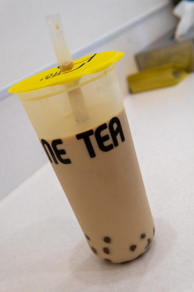 タピオカ Nine Tea (9 tea) ミルクティ